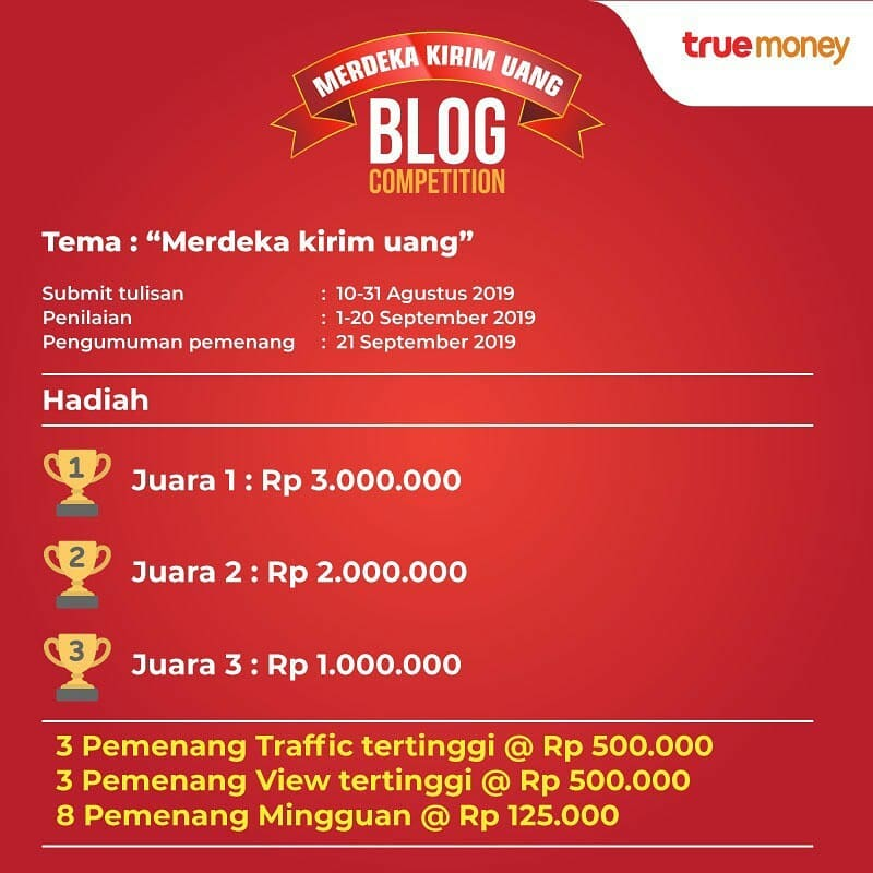 Lomba Blog Truemoney